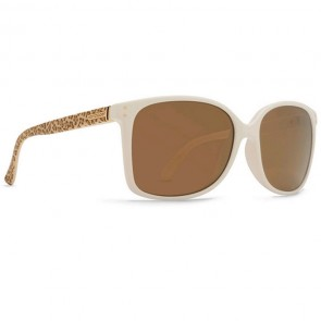 Von Zipper Women's Castaway Party Animal Sunglasses - White/Brown