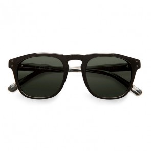 Von Zipper Edison Sunglasses - Black Gloss/Vintage Grey