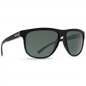Von Zipper Cletus Sunglasses - Black Gloss/Vintage Grey
