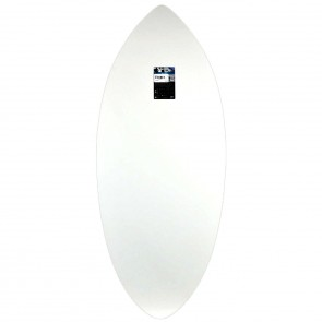 Zap Skimboards Wedge Skimboard - White/Black Splatter