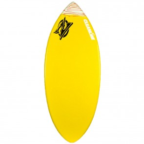 Zap Skimboards Wedge Skimboard - Yellow