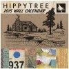 Hippy Tree 2015 Wall Calendar