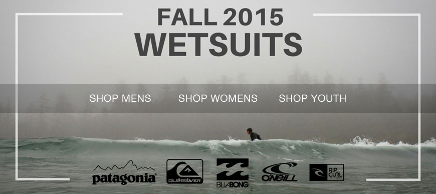 Fall 2015 Wetsuits