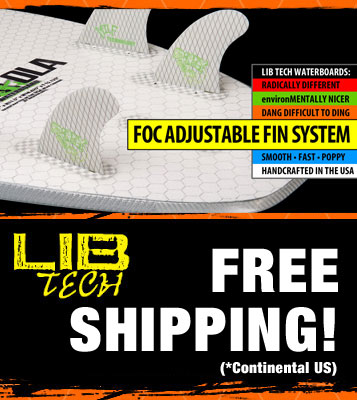 Lib-Tech Surfboards Free Shipping