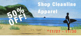 Shop Cleanline Apparel 50% Off