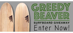 New Firewire Greedy Beaver Surfboard Giveaway